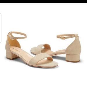 M. Gemi Tan Suede sandals 11